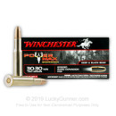 Premium 30-30 Winchester Ammo For Sale - 150 Grain Protected Hollow Point Ammunition in Stock by Winchester Power Max - 20 Rounds