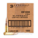 Bulk 5.56x45mm AR-15 Ammo For Sale - 55 gr FMJBT Ammunition In Stock by Federal
