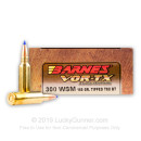 Premium 300 WSM Ammo For Sale - 165 Grain Tipped TSX BT Ammunition in Stock by Barnes VOR-TX - 20 Rounds