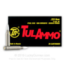 Bulk 223 Rem Ammo For Sale - 75 Grain Hollow Point Ammunition in Stock by Tula - 1000 Rounds