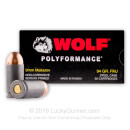 Cheap 9mm Makarov Ammo For Sale - 94 gr FMJ - Wolf WPA Polyformance 9mm Makarov Ammunition In Stock - 50 Rounds