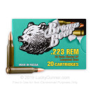.223 Rem (5.56x45) Ammo For Sale - 62 gr HP Ammunition by Brown Bear In Stock - 20 Rounds