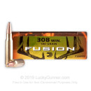 Cheap 308 Win Deer Hunting Ammo For Sale - 180 gr - Federal Fusion Ammo Online - 20 Rounds