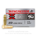 Cheap 22 LR Ammo For Sale - #12 Shot Ammunition - Winchester Super-X - 50 Rounds
