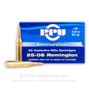 Cheap 25-06 Ammo For Sale - 90 Grain HP Ammunition in Stock by Prvi Partizan - 20 Rounds