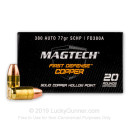380 Auto Defense Ammo In Stock - 77 gr SCHP - 380 ACP Ammunition by Magtech First Defense For Sale - 20 Rounds