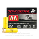 """Cheap 20 ga #8 Shot For Sale - 2-3/4"""" #8 Shot Ammunition by Winchester - 25 Rounds"""