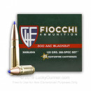 Bulk 300 AAC Blackout Ammo For Sale - 125 Grain SST Ammunition in Stock by Fiocchi Exrema - 500 Rounds