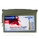 Cheap 223 Rem Ammo For Sale - 55 Grain FMJBT Ammunition in Stock by Federal American Eagle - 420 Rounds in Ammo Can