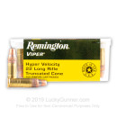 Cheap 22 LR Ammo For Sale - 36 gr Truncated Cone Solid Bullet Ammunition - Remington Viper - 100 Rounds