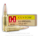 Bulk 6.5 Grendel Ammo For Sale - 123 gr SST Ammunition In Stock by Hornady - 200 Rounds