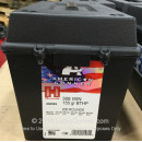 Premium 308 Ammo For Sale -  155 Grain BTHP Ammunition in Stock by Hornady American Gunner - 200 Rounds in Field Box