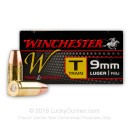 9mm Ammo - 147 gr TCMC- WinUSA Ammunition - 50 Rounds