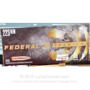 Premium 223 Rem Ammo For Sale - 55 Grain Barnes TSX Ammunition in Stock by Federal - 20 Rounds