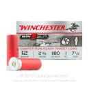 "Cheap 12 Gauge Ammo - Winchester Win3Gun 2-3/4"" #7.5 Shot - 25 Shells"