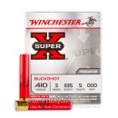 "410 Bore Ammo For Sale - 3"" 000 Buckshot Ammunition by Winchester Super-X - 5 Rounds"