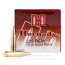 223 Rem Ammo In Stock - 55 gr SP Hornady Defense 5.56x45 Ammunition For Sale  - 50 Rounds