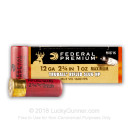 "Premium 12 ga Ammo For Sale - 2-3/4""  1oz Truball HP Rifled Slug Ammunition by Federal Premium - 250 Rounds"