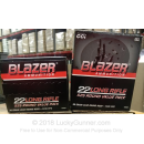 Cheap 22 LR Ammo For Sale - 38 Grain LRN Ammunition in Stock by Blazer - 525 Rounds