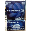 """Cheap 12 Gauge Ammo For Sale - 2-3/4"""" 1oz. #8 Shot Ammunition in Stock by Federal Top Gun Sporting - 25 Rounds"""