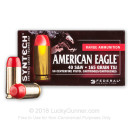 Cheap 40 S&W Ammo For Sale - 165 Grain TSJ Ammunition in Stock by Federal Syntech - 50 Rounds