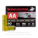 "Cheap 20 Gauge Ammo For Sale Online - Winchester AA Low Recoil Target 2-3/4"" #8 Shot - 25 Rounds"