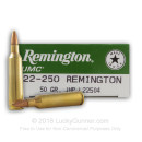22-250 Ammo For Sale - 50 gr JHP - Remington UMC Ammo Online