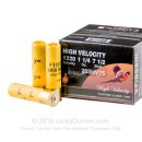 "Bulk 20 Gauge Ammo For Sale - 3"" 1-1/4 oz. #7.5 Shot Ammunition in Stock by Fiocchi High Velocity - 250 Rounds"