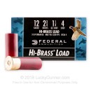 "Bulk 12 Gauge Ammo - 2-3/4"" Lead Shot Game shells - 1 1/4 oz - #4 - Federal Game-Shok - 250 Rounds"