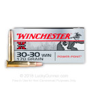 Bulk 30-30 Ammo For Sale - 170 gr PP - Winchester Super-X Ammo Online - 200 Rounds