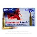 Cheap 5.56x45 XM193 Ammo For Sale - 55 gr FMJ-BT  Federal Ammunition - 20 Rounds