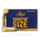 38 Special Ammo For Sale - 158 gr LRN Magtech Shootin' Size Ammunition In Stock