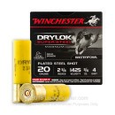 """Cheap 20 ga #3 Shot For Sale - 2-3/4"""" #4 Shot Ammunition by Winchester - 25 Rounds"""