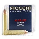 Bulk 22 WMR Ammo For Sale - 40 Grain JSP Ammunition in Stock by Fiocchi - 500 Rounds