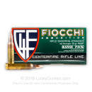 Bulk 223 Rem Ammo For Sale - 55 Grain FMJBT Ammunition in Stock by Fiocchi Shooting Dynamics - 1000 Rounds
