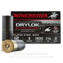 """Cheap 12 Gauge Ammo for Sale - 3"""" Drylock Super Steel #2 Shot Ammunition in Stock by Winchester - 25 Rounds"""