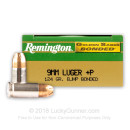 9mm Duty Bonded Ammo For Sale - 124 gr +P JHP Remington Golden Saber Bonded 9mm Ammunition In Stock
