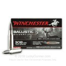 Premium 308 Ammo For Sale - 150 gr STHP - Winchester Supreme Ballistic SIlvertip Ammo Online - 20 rounds