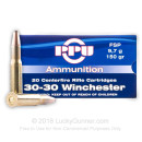 Cheap 30-30 Win Ammo For Sale - 150 Grain Flat Soft Point Ammunition in Stock by Prvi Partizan - 200 Rounds