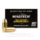 380 Auto Defense Ammo In Stock - 85 gr JHP +P - 380 ACP Ammunition by Magtech Guardian Gold For Sale - 20 Rounds