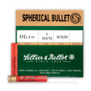 "Cheap 410 ga - 3"" 00 Buckshot - Sellier & Bellot - 25 Rounds"