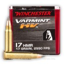 17 HMR Ammo For Sale - 17 gr V-MAX - Winchester Varmint Ammunition In Stock - 50 Rounds