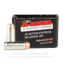 50 Action Express Ammo In Stock - 350 gr JSP - 50 AE Ammunition by MRI For Sale - 20 Rounds