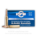 Cheap 6.5x55mm Swedish Ammo For Sale - 139 gr SP Soft Point Ammunition Online by Prvi Partizan - 20 Rounds