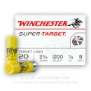 "Cheap 20 ga Ammo For Sale - 2-3/4"" #8 Target Ammunition by Winchester - 25 Rounds"