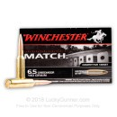 Premium 6.5mm Creedmoor Match Ammo In Stock  - 140 gr Winchester BTHP Ammunition For Sale Online