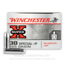 Bulk 38 Special Ammo For Sale - +P 125 Grain JHP Ammunition in Stock by Winchester SilverTip - 500 Rounds