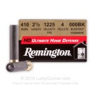 "Premium .410 Bore Ammo For Sale - 2-1/2"" 000 Buckshot Ammunition in Stock by Remington Ultimate Home Defense - 15 Rounds"