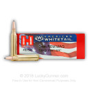 Cheap 7mm Rem Mag Ammo In Stock  - 139 gr Hornady American Whitetail SP Interlock Ammunition For Sale Online - 20 Rounds