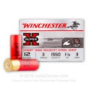 "12 Gauge Ammo - Winchester Super-X Waterfowl 3"" #3 Shot - 25 Rounds"
